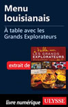 Menu louisianais - À table avec les Grands Explorateurs