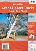 Australia's Great Desert Tracks South-East Sheet, 3rd Ed.