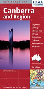 Canberra & Region, 3rd Ed.
