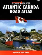 Atlantic Canada Road Atlas - Atlas des Maritimes