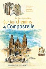 Livre Accordéon Chemins de Compostelle