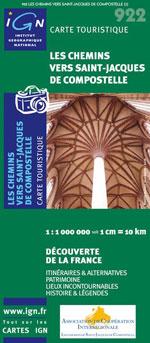 Ign #922 Chemins de Saint-Jacques de Compostelle (France)