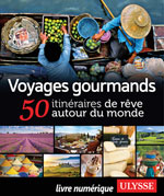 Voyages gourmands - 50 itinéraires de rêve autour du monde