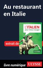 Au restaurant en Italie (Guide de conversation)