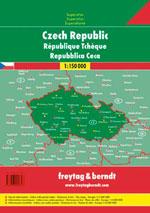 Atlas Routier Rép. Tchèque - Czech Rep. Road Atlas