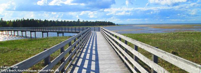 Évasion sur la côte acadienne du Nouveau-Brunswick