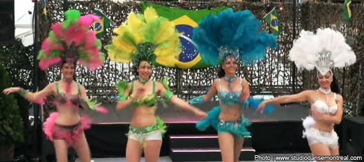 Samba : Studio Danse Montreal