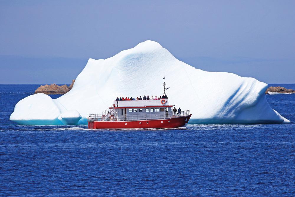 5 endroits pour admirer les icebergs à Terre-Neuve