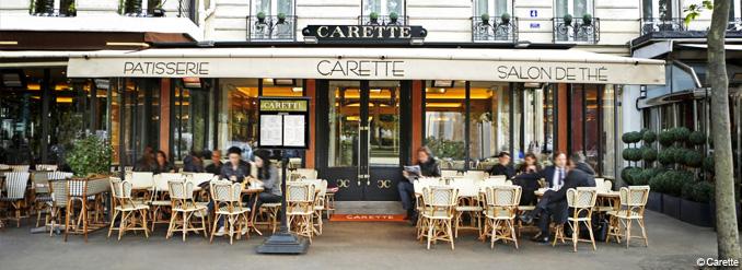 Cafe Tres Frequente A Paris En