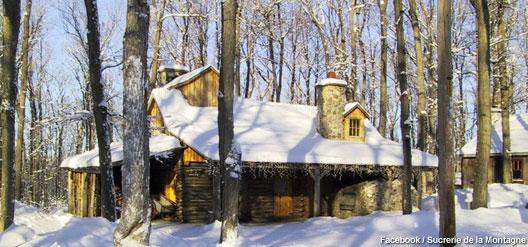 La Sucrerie de la Montagne, une cabane à sucre chaleureuse
