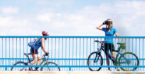 Excursion à vélo