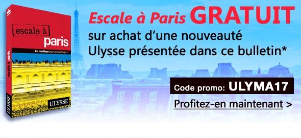 Promo Escale à Paris