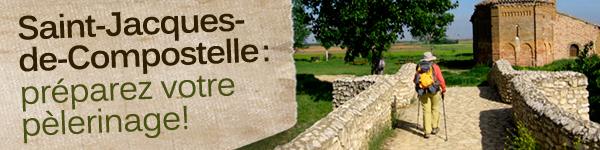 Le chemin de Saint-Jacques-de-Compostelle