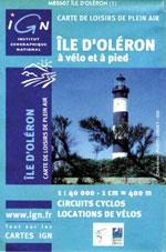 Ign Île d'Oléron à Vélo et à Pied