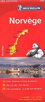 Carte #752 Norvège