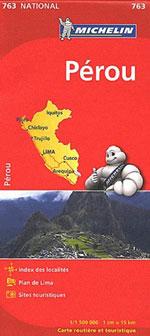 Carte #763 Pérou