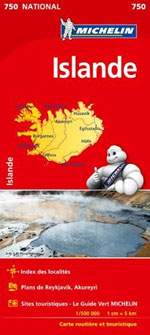 Carte #750 Islande