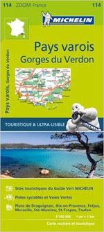 Carte Zoom #114 Pays Varois & Gorges du Verdon 2016