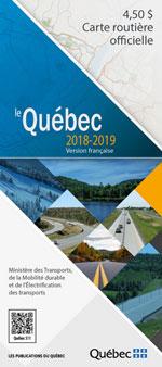 Carte Routière Officielle du Québec 2018-2019