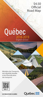 Quebec Official Road Map 2018-2019