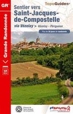 Ffrp Chemin de St-Jacques de Compostelle : Vézelay-Périgeux