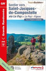 Ffrp Compostelle Via le Puy : du Puy-en-Velay à Figeac, Gr65