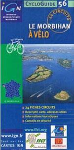 Ign Cycloguide 24 Circuits - le Morbihan