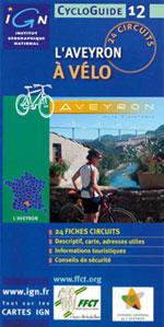 Ign Cycloguide 24 Circuits - l'Aveyron à Vélo