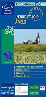 Ign Cycloguide 24 Circuits - l'Eure et Loir à Vélo