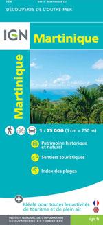 Ign Outre-Mer #84972 Martinique