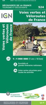 Ign #924 Véloroutes et Voies Vertes de France