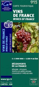 Ign #915 Vins de France