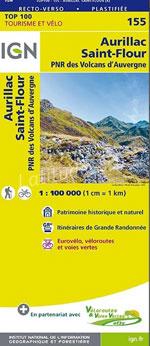 Ign Top 100 #155 Aurillac, St-Flour