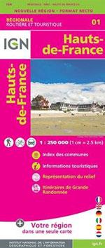 Ign Nord-Pas-de-Calais & Picardie R01
