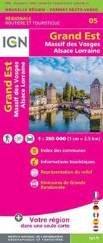 Ign Grand Est (Massif des Vosges-Alsace-Lorraine) R05