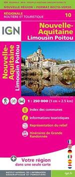 Ign Nouvelle-Aquitaine (Limousin - Poitou)  R12