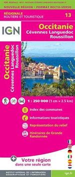 Ign Occitanie  (Cévennes-Languedoc-Roussillon)