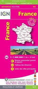Ign #901 France Routière Maxi Format