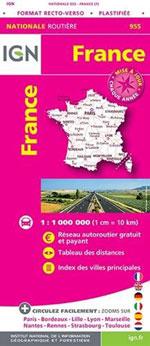 Ign #955 France Maxi Format (Plastifiée)
