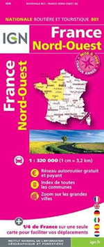 Ign #801 France Nord-Ouest