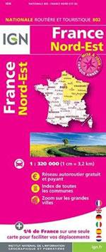 Ign #802 France Nord-Est