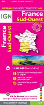Ign #803 France Sud-Ouest