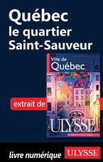 Québec - le quartier Saint-Sauveur