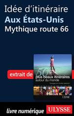 Idée d'itinéraire aux États-Unis - Mythique route 66