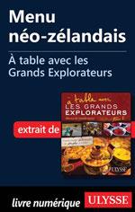 Menu néo-zélandais - À table avec les Grands Explorateurs
