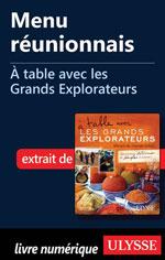 Menu réunionnais - À table avec les Grands Explorateurs