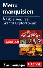 Menu marquisien - À table avec les Grands Explorateurs