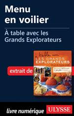 Menu en voilier - À table avec les Grands Explorateurs