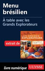Menu brésilien - À table avec les Grands Explorateurs