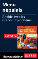 Menu népalais - À table avec les Grands Explorateurs